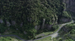 Cheddar Gorge Stock Footage