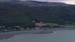 Porlock Weir Stock Footage