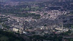 Bath In Wide Shot From South Stock Footage