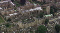 New College Oxford Stock Footage