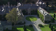 Lanhydrock House Stock Footage