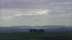 South Coast From Dartmoor Stock Footage