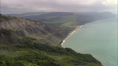 Jurassic Coast Stock Footage