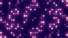 Grid Lights Blue Loopable Background - stock footage