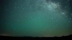 4K UHD Star Timelapse Desert Milky Way Stock Footage