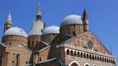 Padua - Sant'Antonio basilica Stock Footage