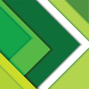 A material design green Stock Illustration