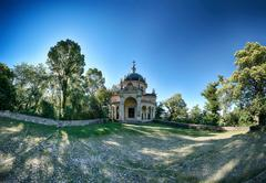 Fifth Chapel of Sacred Mount of Varese Stock Photos