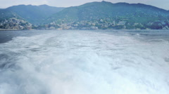 Boat Ride on the Italian Riviera - 29,97FPS NTSC Stock Footage