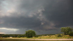Extremely Turbulent Storm Clouds Time-Lapse - stock footage