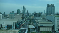 4K Time lapse Bangkok city in Thailand Stock Footage