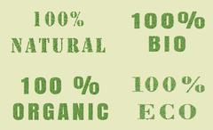 Ecology nature design. Stock Illustration
