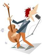 Rocker Stock Illustration