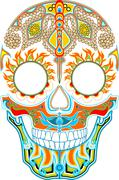 Day of the dead. Mexican festival Stock Illustration