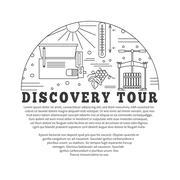 Winemaking, wine tasting graphic design concept Stock Illustration