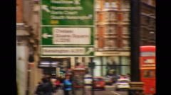 Super 8 Contemporary London West End 02 - stock footage