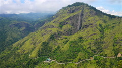 Mountains in Ella, Sri Lanka Stock Footage