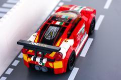 Lego Ferrari 458 Italia GT2 - stock photo