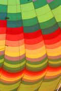 Hot air balloon, close-up Stock Photos