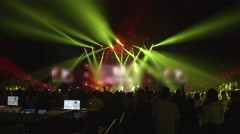 ACTION - Concert Footage of stage - stock footage