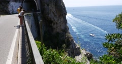 Amalfi Coast, Italy Stock Footage