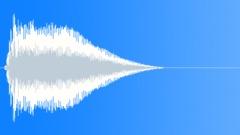 Logo Stinger Ident in gliding sharp dominant upfront cutting - stock music