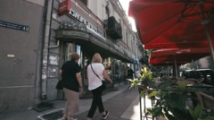 Citylife in Budapest, Hungary. Stock Footage