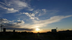 Denver Direct Sun Time-lapse Arkistovideo