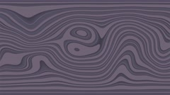 Beautiful hypnotic abstract curly waves and lines loopable pattern. Lavender Stock Footage