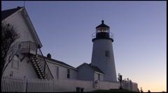 Pemaquid Lighthouse, Bristol, Maine Stock Footage