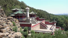 Summer Palace located in Beijing of China. Stock Footage