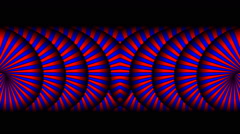 Moving geometric shapes-6-07-na Stock Footage