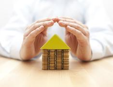 Property insurance concept - stock photo