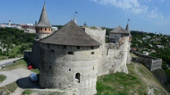 The Ukrainian fortress. Stock Footage