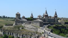 Ukrainian fortress, ancient. Stock Footage