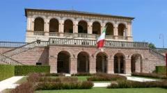 Padua - Villa dei Vescovi Stock Footage