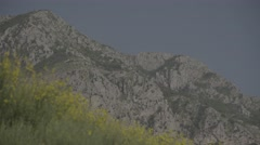 The mountainous landscape of Montenegro. The Mountains Of The Balkans. Stock Footage