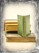 Antique book of poams by Walt Witman stock image Stock Photos