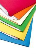 Appealing file folder Stock Photos