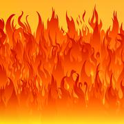 Fire flames background Stock Illustration