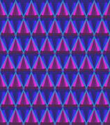 3d cone pattern Stock Illustration