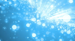 Brilliant blue for background. Stock Footage