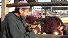 A fisherman From Gaza Arkistovideo