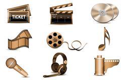 Entertainment icons Piirros
