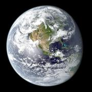 High resolution planet Earth Stock Illustration