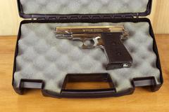 Jennings semi-auto pistol. Stock Photos