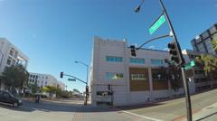 Cartoon Network Studios Building Burbank CA Stock Footage