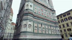 A view of the Basilica of Santa Maria del Fiore in Florence Stock Footage