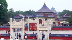 Temple of Heaven in Beijing, China. Stock Footage