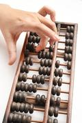 Vintage abacus Stock Photos